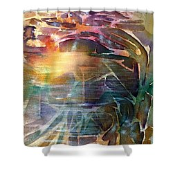 Cavern Travel Shower Curtain