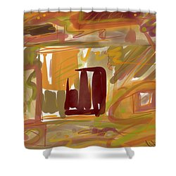 Abstraction Collect 1 Shower Curtain