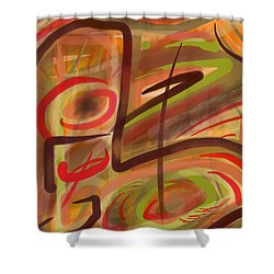 Abstraction Collect 2 Shower Curtain
