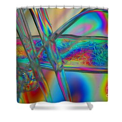Abstraction In Color 2 Shower Curtain