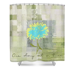 Abstractionnel - 29grfl3c-gr3 Shower Curtain