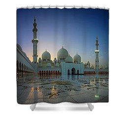 Abu Dhabi Grand Mosque Shower Curtain
