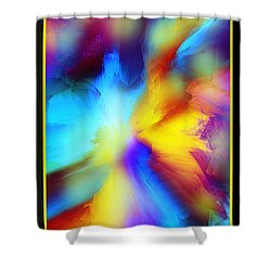 Celestial Rhythm Shower Curtain