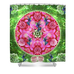 Abundant Flight Shower Curtain