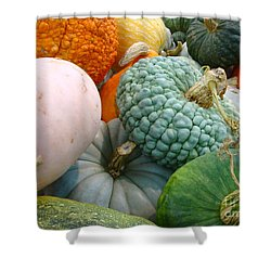 Shower Curtain featuring the photograph Abundant Harvest by Cathy Dee Janes
