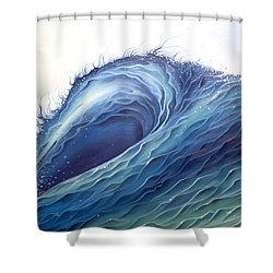 Abyss Shower Curtain by William Love