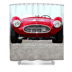 Ac Cobra Shower Curtain by Gary Grayson