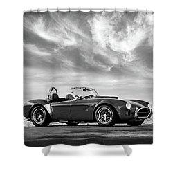 Ac Shelby Cobra Shower Curtain by Mark Rogan