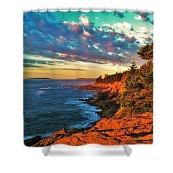 Acadia At Dawn Shower Curtain