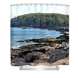 Acadia Cove Shower Curtain