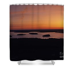 Acadia National Park - Maine Usa Shower Curtain by Erin Paul Donovan