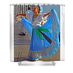 Acapulco  Dancer Shower Curtain