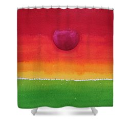Acceptance Original Painting Shower Curtain