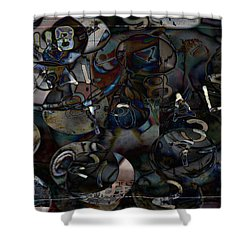 Accounting Grind Shower Curtain