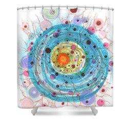 Accretion Shower Curtain