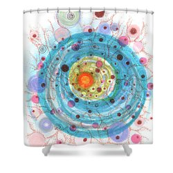 Accretion Shower Curtain
