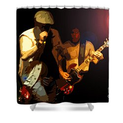 Acdc Shower Curtain by David Lee Thompson