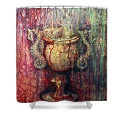 Ace Of Cups Shower Curtain