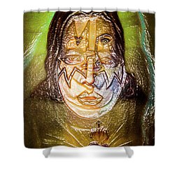 Acejesus Shower Curtain