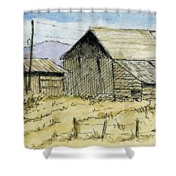 Aceo No 3 Two Barns Shower Curtain