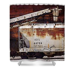 A C F X 44724 Shower Curtain by David Blank