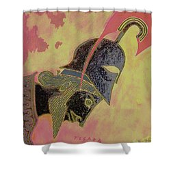 Achilles Shower Curtain