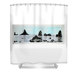 Aci Trezza Shower Curtain