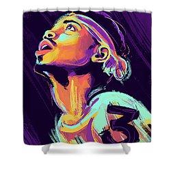 Acid Rapper Shower Curtain