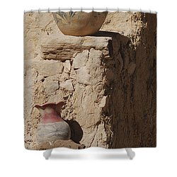 Acoma Pueblo Pottery Shower Curtain