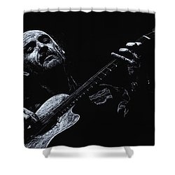 Acoustic Serenade Shower Curtain by Richard Young