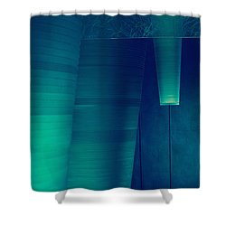 Acoustic Wall Shower Curtain by Bobby Villapando