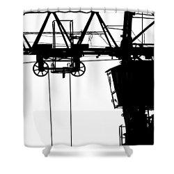 Acrophobia Shower Curtain