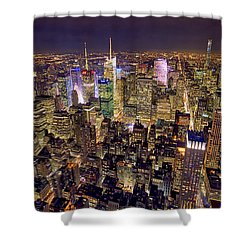 Across Manhattan Shower Curtain