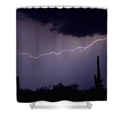 Across The Desert Shower Curtain by James BO  Insogna
