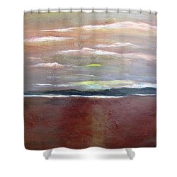 Across The Horizon Shower Curtain