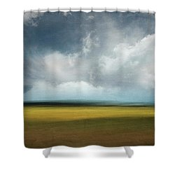 Across The Marsh Shower Curtain