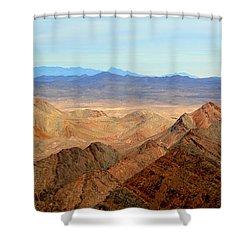 Across The Range Shower Curtain