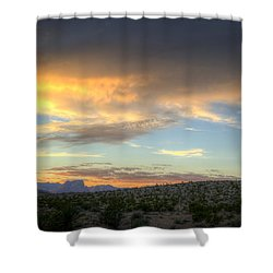 Across The Street Shower Curtain