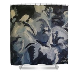 Acrylic Blues Shower Curtain