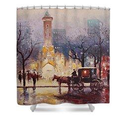 Acrylic Msc 054 Shower Curtain