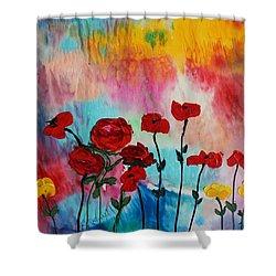 Acrylic Msc 101 Shower Curtain