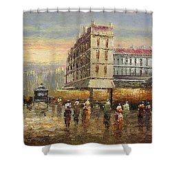 Acrylic Msc 132 Shower Curtain