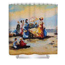 Acrylic Msc 191 Shower Curtain