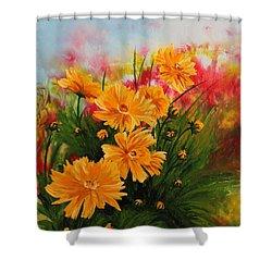Acrylic Msc 216 Shower Curtain