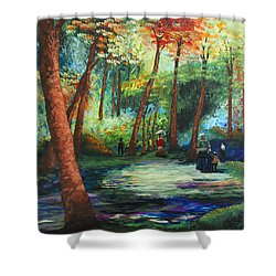 Acrylic Msc 217 Shower Curtain