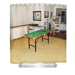 Activity Room Shower Curtain