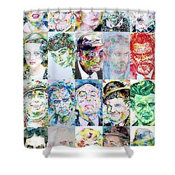 Actors And Directors Shower Curtain