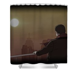 Actual Sunlight Shower Curtain