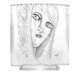 Adal Shower Curtain by Dan Twyman