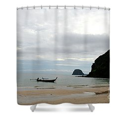 Andaman Sea Shower Curtain